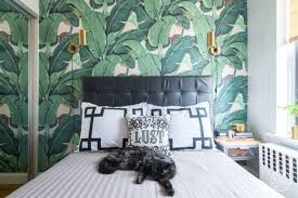 Dorothy Draper Interior Designer The Martinique Banana Leaf And Brazilliance Wallpaper