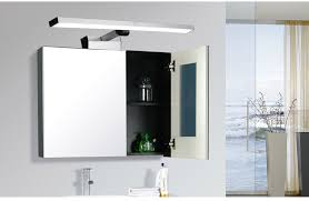 Bathroom Mirror Unit New Bathroom Mirror Lights Mirror Cabinet Front Light Thick