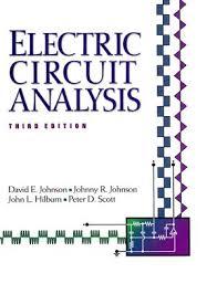 basic electric circuit analysis solution manual david johnson pdf