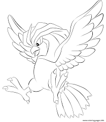 017 pidgeotto pokemon coloring pages printable