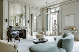 Parisian Living Room by An Intro To The Parisian Art Deco Style Emily Henderson
