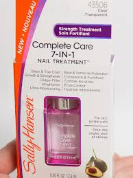 sally hansen complete care 7 in 1 treatment challenge with miracle