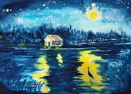 starry night painting starry night by sharon mick