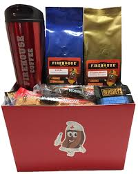 thank you baskets thank you gift basket for a firehouse coffee company