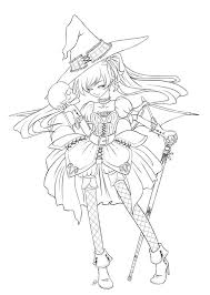 cartoon scary witch coloring pages witch coloring pages cartoons