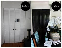 Louvered Doors Interior Bye Bye Louvered Doors Hello Paneled Bye Bye Doors And Interiors