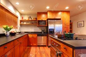 Nice Kitchen Cabinets Kitchen Cabinets Stock Photos Royalty Free Kitchen Cabinets