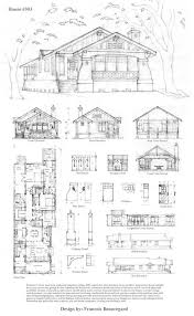 One Story Craftsman Bungalow House Plans by 120 Best House Plans Images On Pinterest House Floor Plans