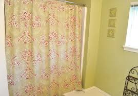 How To Make Basic Curtains Turn A Bed Sheet Into A Shower Curtain Make And Takes