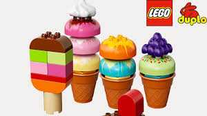 ice cream clipart lego duplo creative ice cream youtube