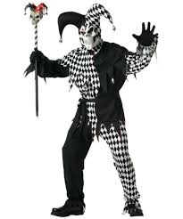 evil jester costume men halloween costumes