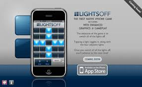 Light On Iphone First Native Iphone Game Lights Off Iphone Games Download