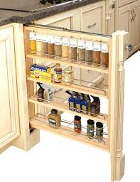 Pullouts For Kitchen Cabinets Kitchen Cabinet Pullouts Rev A Shelf 3 Inch Wood Base Cabinet