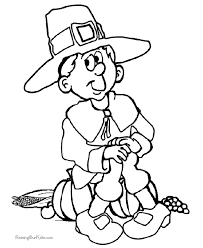 thanksgiving day coloring pages free kid thanksgiving coloring pages 008
