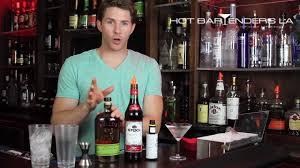 manhattan drink bottle how to make a manhattan cocktail youtube