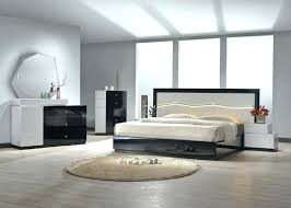 Bedroom Furniture Toronto White Lacquered Bedroom Furniture Modern Lacquered White And Black