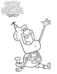 free cartoon network uncle grandpa coloring printable
