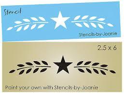 stencil collection on ebay