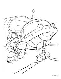 quincy and rocket little einsteins coloring pages hellokids com