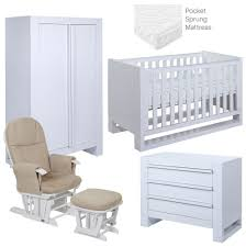 5 Piece Nursery Furniture Set by Rimini 5 Piece Room Set Nursery Furniture Set Baby Bedroom Set