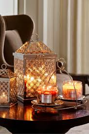 Orange Home And Decor by Infinite Circles Lanterns Set Your Home Aglow With Vibrant Autumn