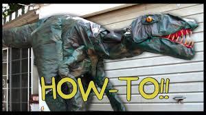 velociraptor costume how to make your own jurassic world velociraptor how