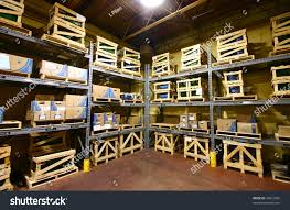 Warehouse Interior Closeup Warehouse Interior Stock Photo 43691656 Shutterstock
