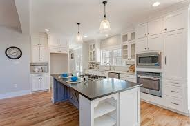 kitchen cabinets open floor plan an open floor plan kitchen with shaker style cabinets built