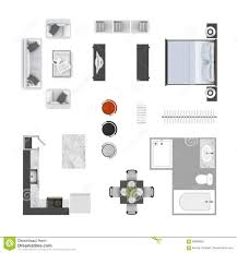 floor plan furniture collection stock photos 8 images furniture top view royalty free stock photos