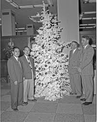 file chinese visitors to seattle with christmas tree 1953 jpg