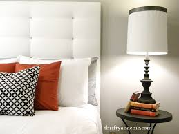 Diy Bedroom Headboard Ideas Headboards Chic Diy Tufted Headboard Supplies Trendy Bed Ideas