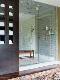 Teak Tiles Mosaic Wood Tiles Traditional Bedroom by Bathrooms Small Shower Space With Modern Look And Small Wood