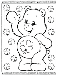 Bear Coloring Pages Preschool Care Bears Coloring Page Teddy Bear Coloring Pages Preschool