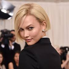 karlie kloss hair color karlie kloss unveiled a bob at the met gala 2017 bella hadid
