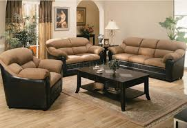 Black Leather Living Room Chair Faux Leather Living Room Set