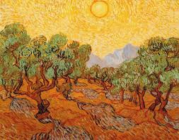 la chambre jaune gogh vincent gogh post impressionism ramy oliviers avec