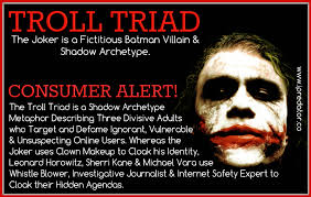 Seeking Troll Date Troll Triad Assailant Dynamic Construct