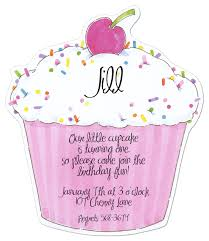 pink cupcake die cut invitation cupcake invitations pink