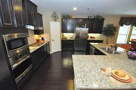 Dark Kitchen Cabinets Light Countertops Dark Kitchen Cabinets With Light Doors U2013 Quicua Com