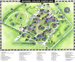 Carroll Community College Map Mcdaniel College Maplets
