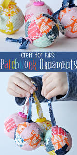Ornament Craft Ideas Adults Patchwork Ornament Craft This Craft Is Based The Book Coat
