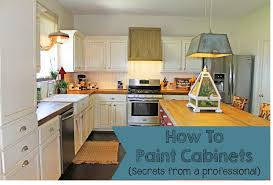 Professionally Painted Kitchen Cabinets by The Ragged Wren How To Paint Cabinets Secrets From A Professional