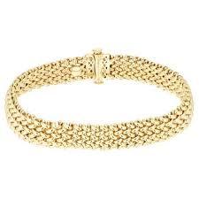 multi tone gold bracelet images Ladies yellow gold bracelets ernest jones