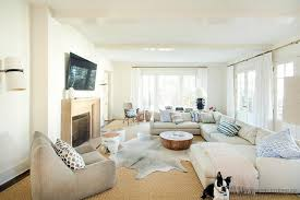 Gray Cowhide Rug Layered Living Room Rugs Design Ideas