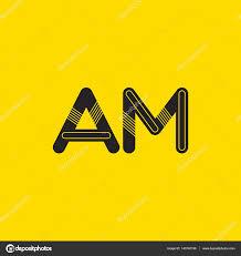 imagenes que empiecen con la letra am conectada am logo de letras vector de stock brainbistro 143740199