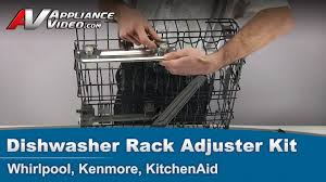 whirlpool kenmore kitchenaid dishwasher replacement rack