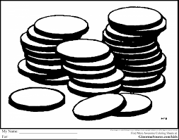 coloring pages quarter awesome quarter coin coloring page with money coloring pages