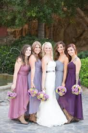 lilac dresses for weddings 32 amazing ombre wedding details that wow ombre bridesmaid