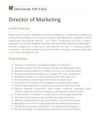 Sales And Marketing Resume Sample by Sample Cv Sales And Marketing Manager