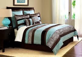 apartments breathtaking aqua blue and brown bedroom ideas